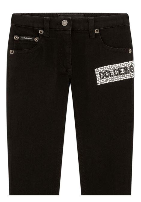 Jeans nero DOLCE & GABBANA KIDS | L51F51LY049N0000