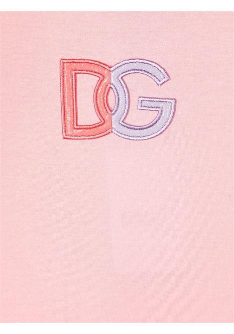 T-shirt rosa DOLCE & GABBANA KIDS | L5JTAZG7A9HF0660