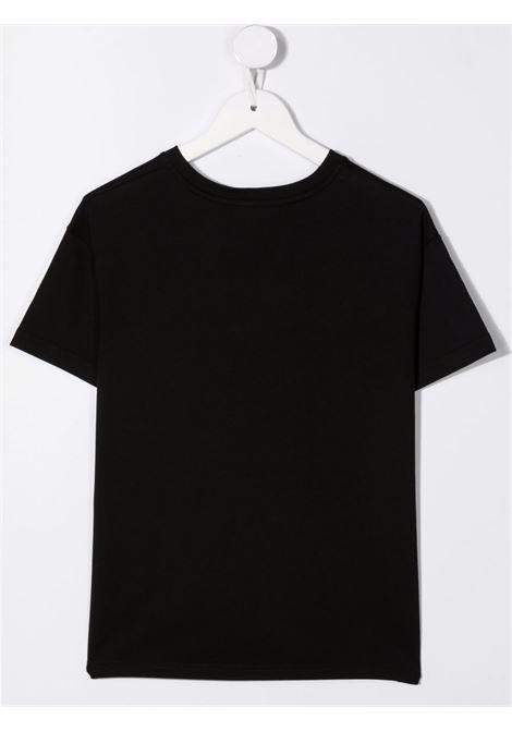 T-shirt nera DOLCE & GABBANA KIDS | L5JTHMG7BGZN0000