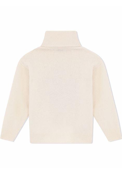 Pullover bianco DOLCE & GABBANA KIDS | L5KWF6JBVK4W0800