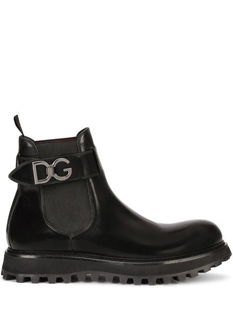 Black boots DOLCE & GABBANA | A60371A120380999
