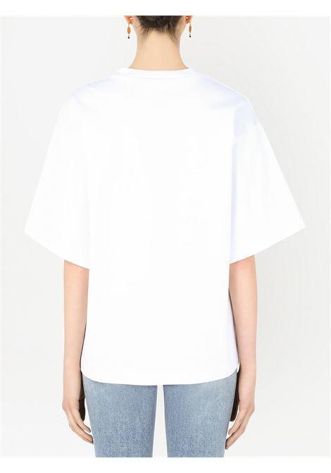 T-shirt bianca DOLCE & GABBANA   T-SHIRT   F8O50ZHU7H8S9002