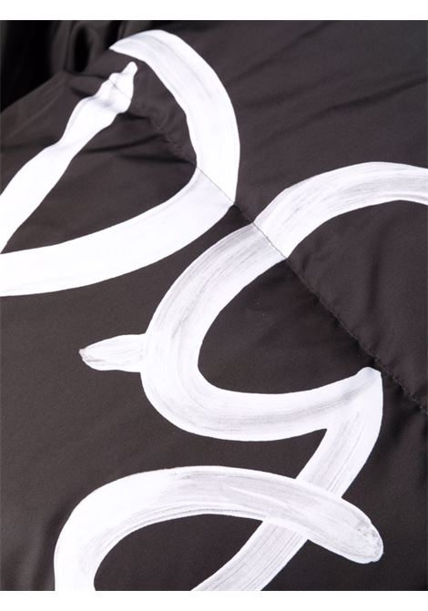 Cappotto nero/bianco DOLCE & GABBANA   GIUBBINI   F9K65TG7A5QS9000