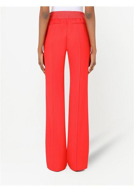 Pantalone rosso DOLCE & GABBANA | FTB7NTGDP69R0012