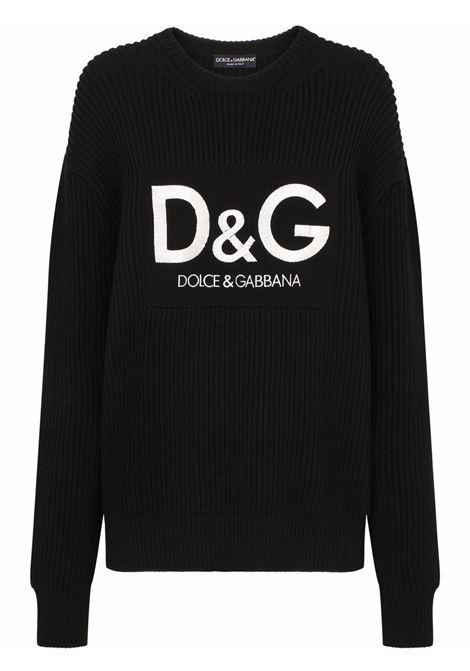 Maglione nero DOLCE & GABBANA | FX243ZJBVG5N0000