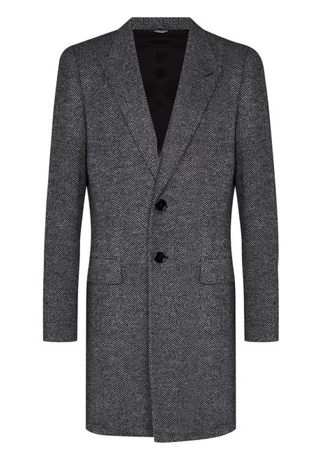 Grey coat DOLCE & GABBANA | G023OTFC7AQS8030