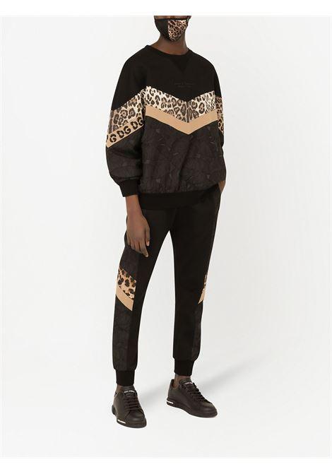 Pantalone marrone DOLCE & GABBANA | PANTALONI | GWJRAZG7YRXHY13M