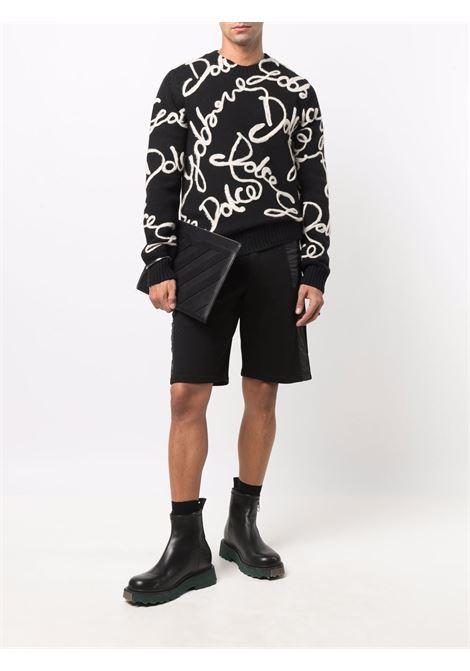 Black/white jumper DOLCE & GABBANA | GXE94ZJAW9EN0000