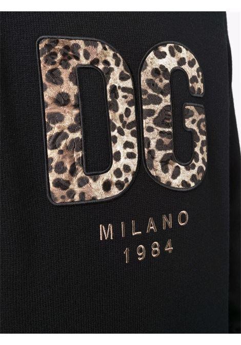 Black sweatshirt DOLCE & GABBANA | GXG33ZJAW8YN0000