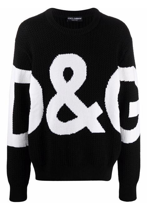 Black jumper DOLCE & GABBANA | GXG69TJBVD8S9000