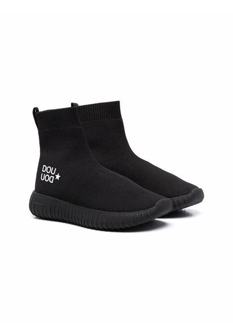 Sneakers nera DOUUOD | 13SOCK07NERO