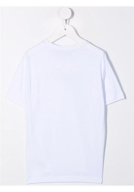 T-shirt bianca DSQUARED ICON KIDS   DQ0588D00MQDQ100