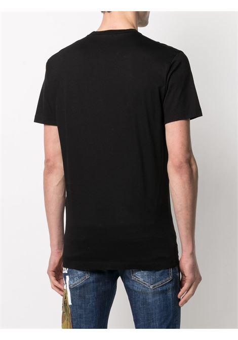 T-shirt nera DSQUARED ICON | T-SHIRT | S79GC0036S23009994