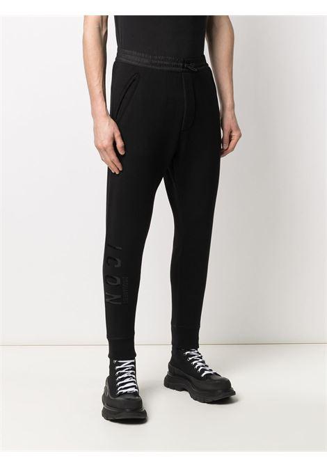 Pantalone nero DSQUARED ICON | PANTALONI | S79KA0021S25042992