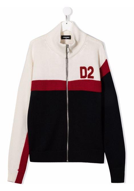 Pullover multicolore DSQUARED KIDS | DQ0351D006YTDQ858