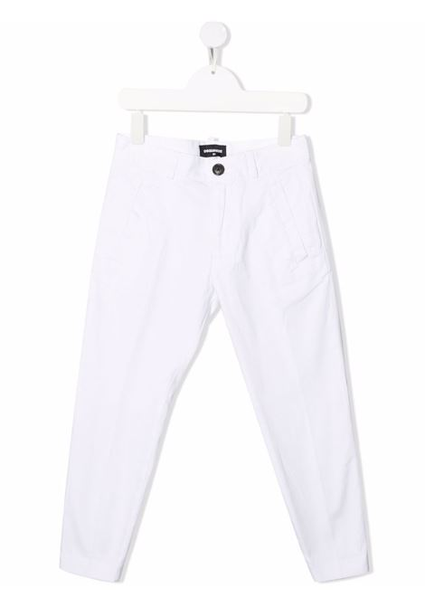 White trousers DSQUARED KIDS | DQ0380D007EDQ100