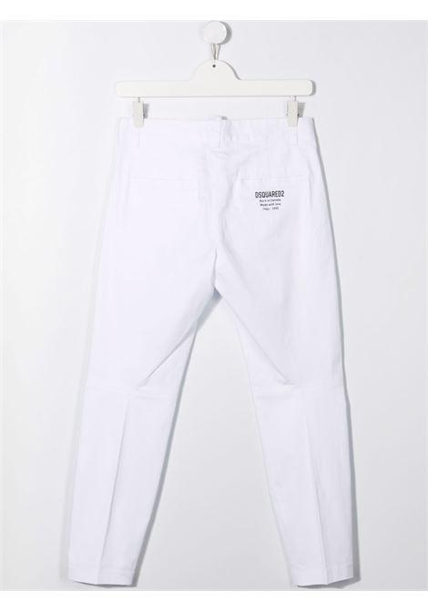 White trousers DSQUARED KIDS | DQ0380D007ETDQ100