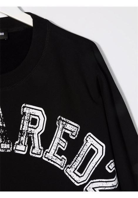 Black sweatshirt DSQUARED KIDS | DQ0433D008FTDQ900