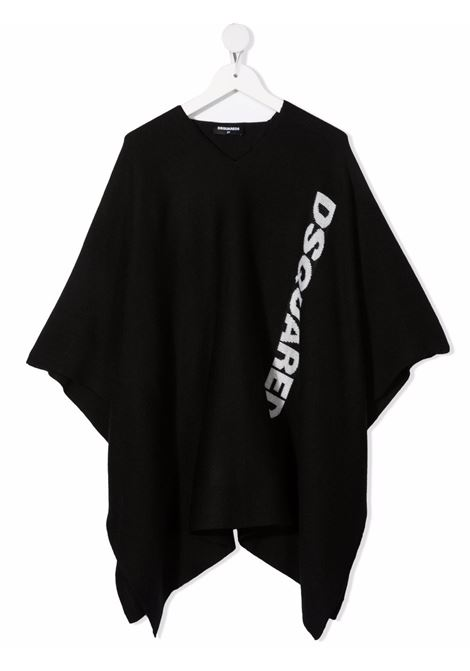 Black t-shirt DSQUARED KIDS | DQ0465D00ZXDQ900