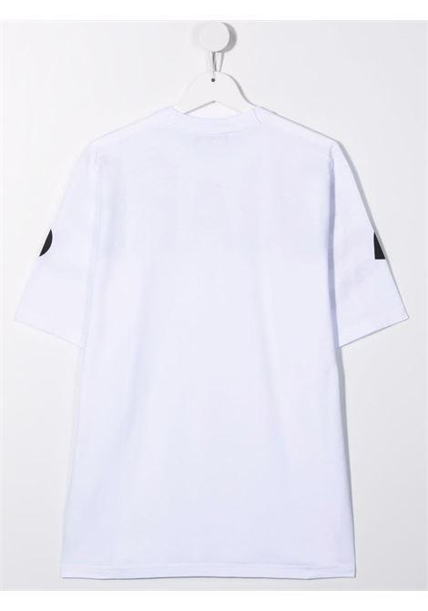 T-shirt bianca/nera DSQUARED KIDS | T-SHIRT | DQ0526D002FTDQ100