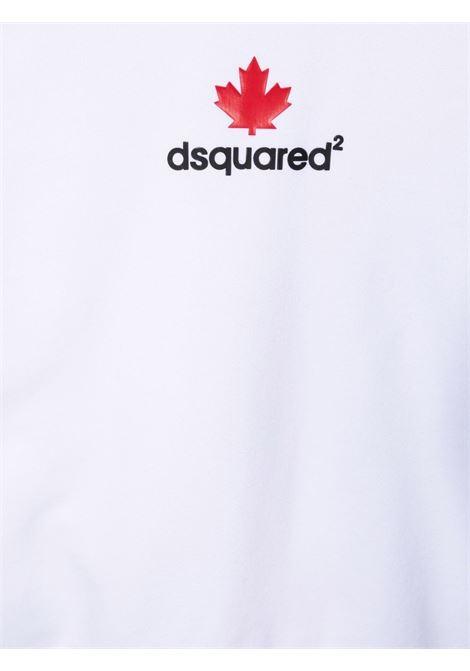 Felpa bianca DSQUARED KIDS | FELPE | DQ0534D00G4TDQ100
