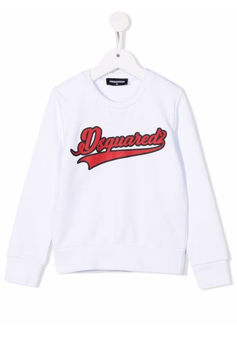 White sweatshirt DSQUARED KIDS | DQ0547D00G4DQ100