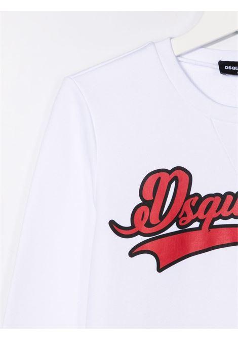 White sweatshirt DSQUARED KIDS | DQ0547D00G4TDQ100