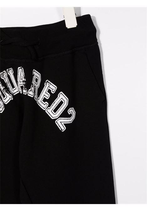 Black track pants DSQUARED KIDS | TROUSERS | DQ0548D008FDQ900