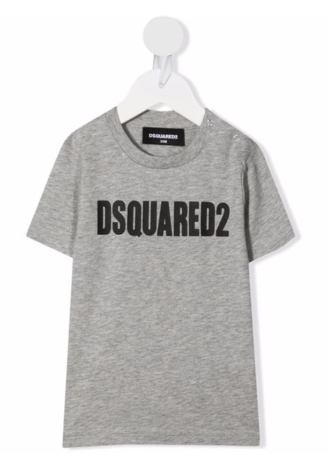 T-shirt grigio DSQUARED KIDS | T-SHIRT | DQ0552D00MPBDQ911