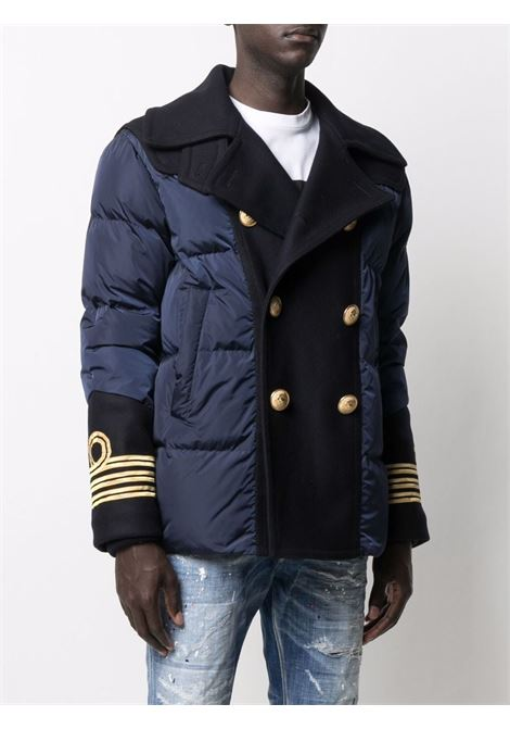 Blue padded jacket DSQUARED   S71AN0300S53817477