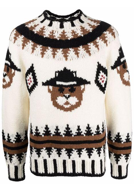 Pullover multicolore