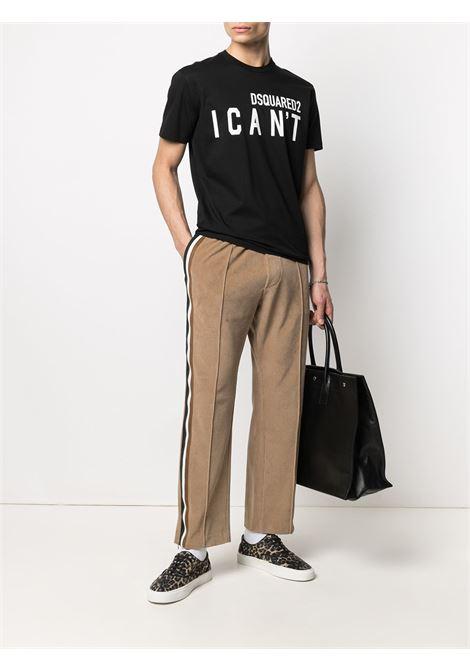 Black t-shirt DSQUARED | T-SHIRT | S74GD0859S23009900