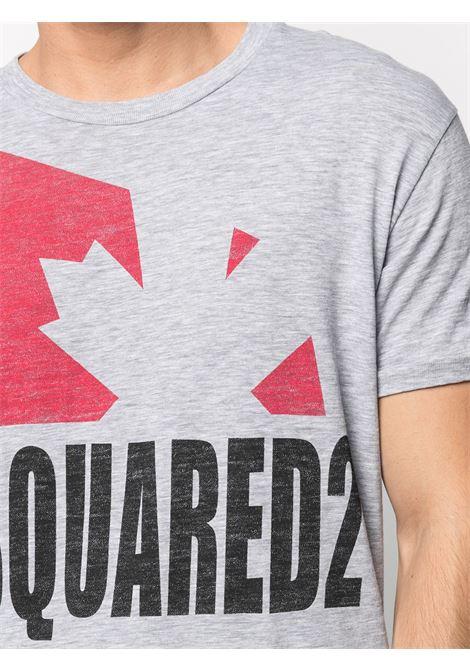 Grey t-shirt DSQUARED | T-SHIRT | S74GD0863S22146857M