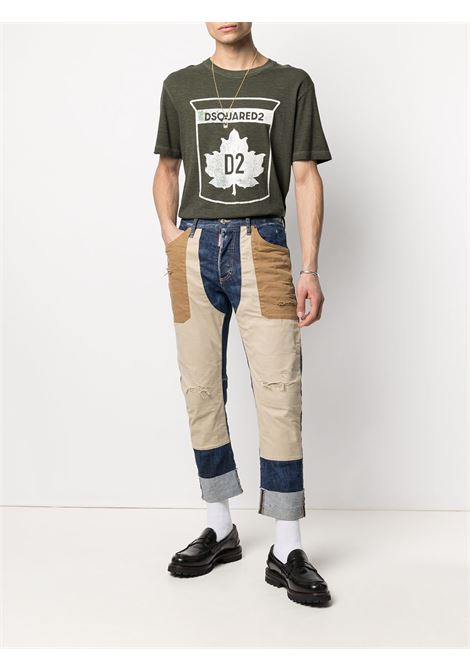 Green t-shirt DSQUARED | T-SHIRT | S74GD0866S22146703