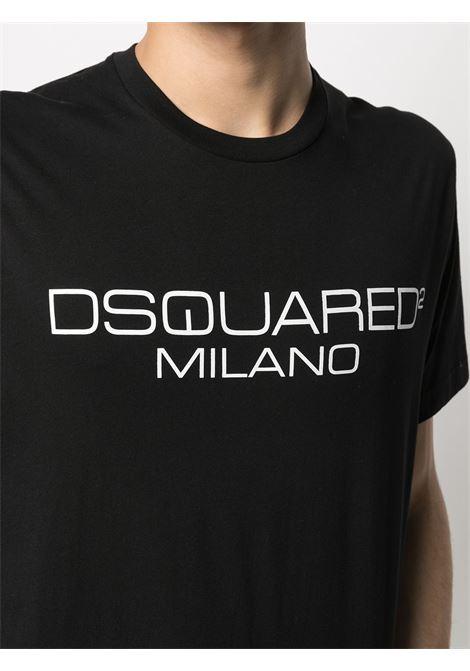 Black t-shirt DSQUARED | T-SHIRT | S74GD0899S22844900
