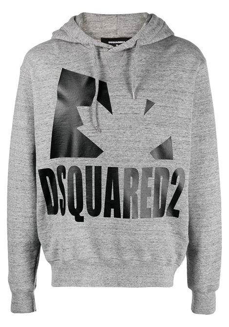 Grey sweatshirt DSQUARED | SWEATSHIRTS | S74GU0530S25463860M