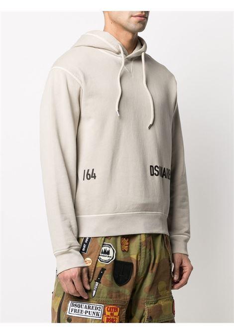 Beige sweatshirt DSQUARED | SWEATSHIRTS | S74GU0532S25030800