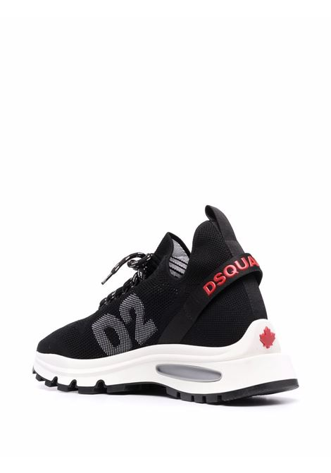 Sneakers nera DSQUARED | SNM0211592043532124