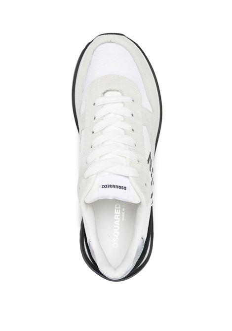 Sneakers bianco/nero DSQUARED | SNM021201601682M2214