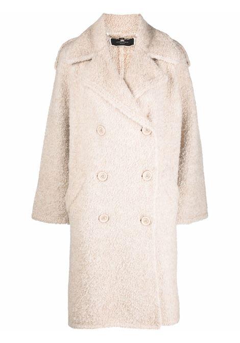 Beige coat ELISABETTA FRANCHI | CK40T16E2193