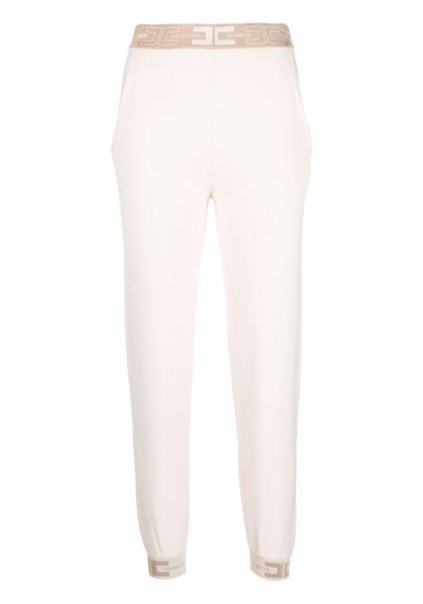 White track pants ELISABETTA FRANCHI | KP20S16E2U69