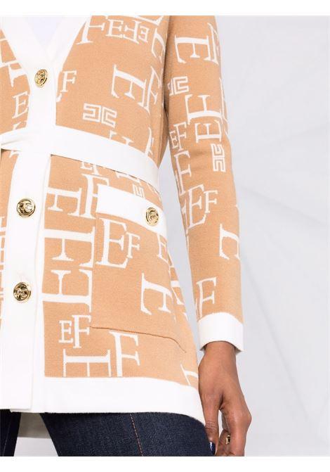 Cardigan beige ELISABETTA FRANCHI   CARDIGAN   MK63Q16E2G21