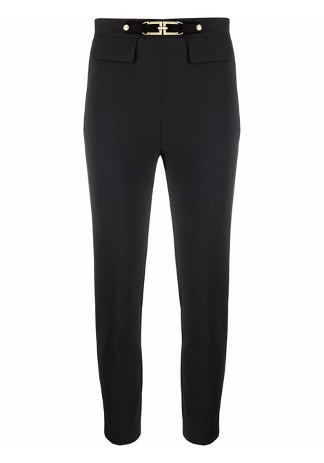 Black trousers ELISABETTA FRANCHI | PA38616E2110