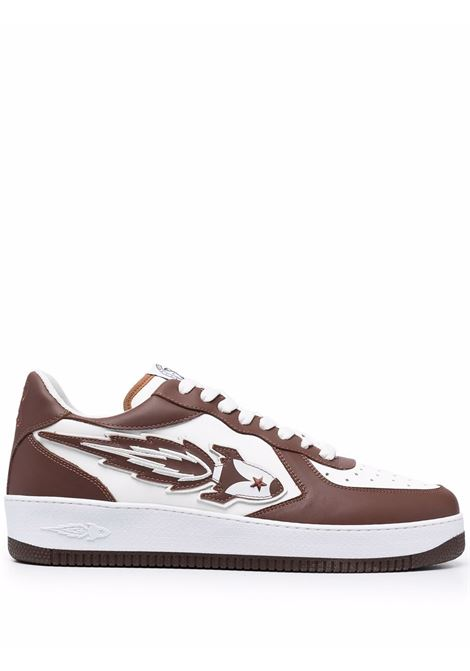 Sneakers bianca/marrone ENTERPRISE JAPAN | BB1017P0102S1804BROWN