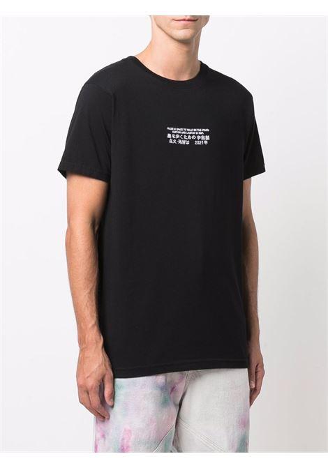 T-shirt nera ENTERPRISE JAPAN | BB1341TX19022222EJT02BLACK