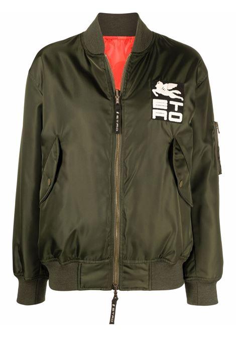 Green bomber ETRO   180687226500