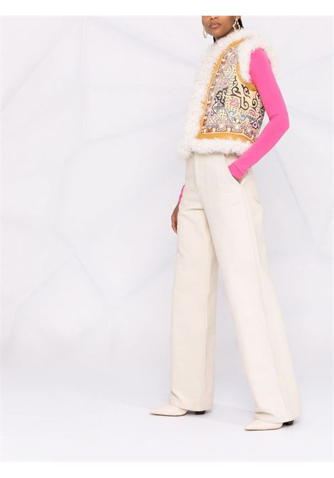 Gilet bianco/multicolore ETRO   184627210700