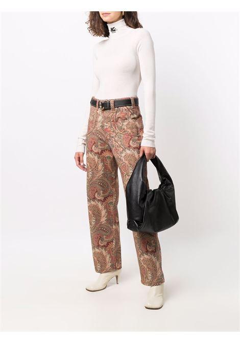 Multicolour trousers ETRO | TROUSERS | 184889118750