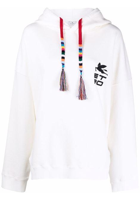 Felpa bianca ETRO | 185519113990