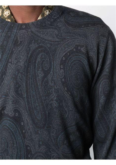 Maglione blu ETRO | MAGLIONE | 1M0649781200
